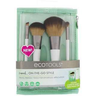 ECOTOOLS On The Go Style Brush Set