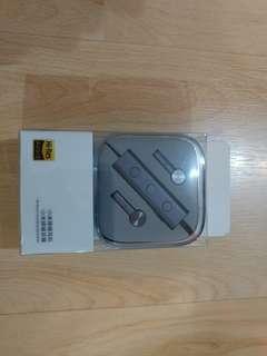 小米3.5mm版主動降噪耳機,雙動圈+動鐵 100%全新 ( not akg shure sennheiser ie80 535 sony)