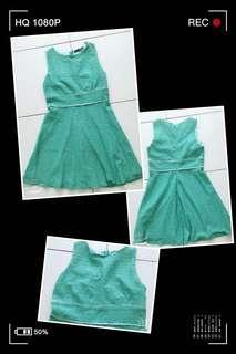 #Mint Green Dress F9040 #薄荷青连身裙 #MMAR18