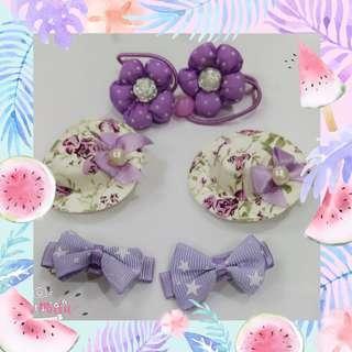 #purple accessories F2024 #紫色系发饰 #MMAR18