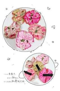 #floral hair clip #时尚花系发夹 #everything18
