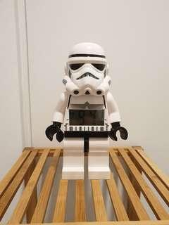 Star Wars Storm Trooper Lego Clock