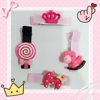 #Pink Series Accessories B1001 #粉系发夹 #everything18