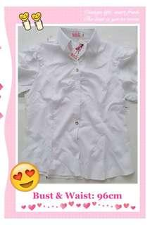 #Simple White Tops F9030 #白色上衣 #everything18