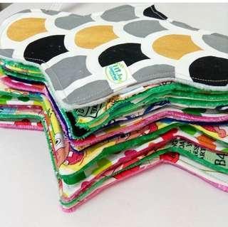 Trial pack cloth pad