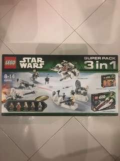LEGO 66449 Star Wars Super Pack 3 in 1 (75014 only)