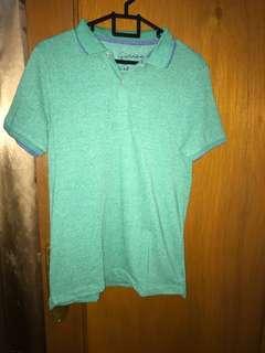 Giordano Polo Shirt. Warna Hijau