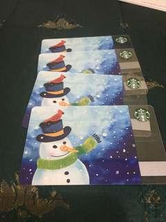 Starbucks Cards (Canada and US)