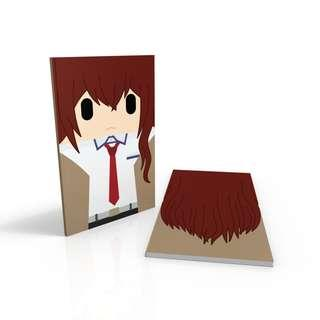 Makise Kurisu - Steins Gate notebook