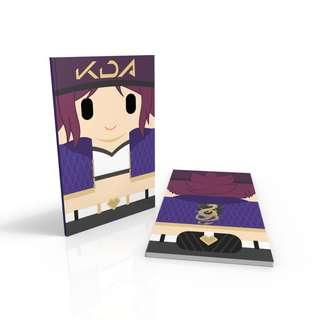 Popstars Akali - League of legends notebook