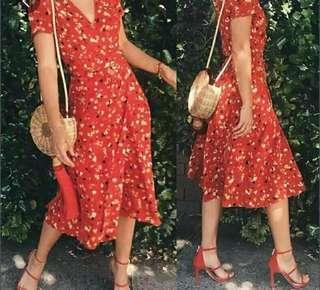 Zaful wrap dress
