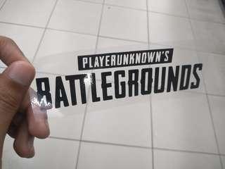 PUBG Sticker