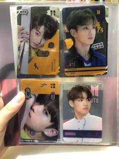 bts and exo photocards