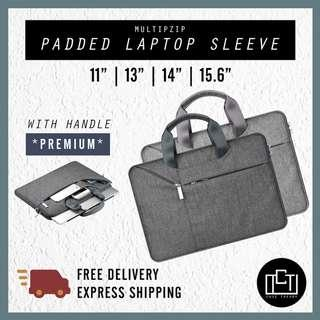 🚚 🔅cT🔅 NON SLING carrying handle new laptop sleeve bag all laptops briefcase padded LAPTOP