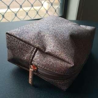 Sephora glittery makeup pouch / bag!