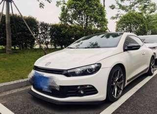 (In stock) Volkswagen Scirocco Bumper Lip PU version