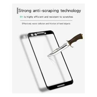 🚚 3D Full Cover Tempered Glass Screen Protector Google Pixel 3