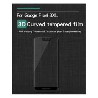 🚚 3D Full Tempered Glass Screen Protector Google Pixel 3 XL