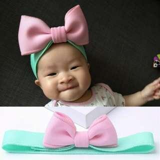 3D Bow Baby and Kids Headband