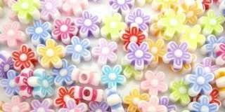 Flower Beads 9mm