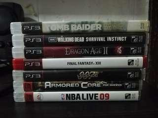 Ps3 Games Bundle and Per Cd