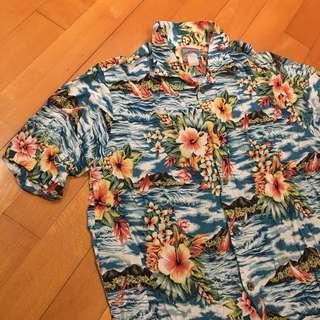 80's Hawaii vintage shirt usa buzz rrl sugarcane workware