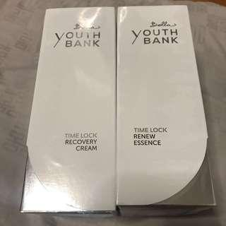 Bella Youth Bank Time Lock Renew Essence Recovery Cream anti-aging 抗衰老護膚產品 brand new 50% off 全新 半價