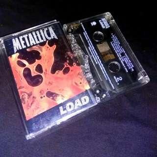Kaset Metallica. Load. Cassette. Tape