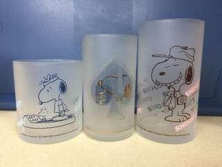 Snoopy杯三隻