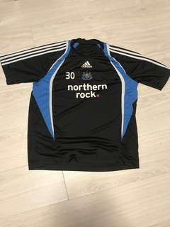 Vintage Newcastle authentic player issue training shirt jersey