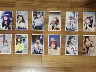 twice - momo photocards (12 pieces)