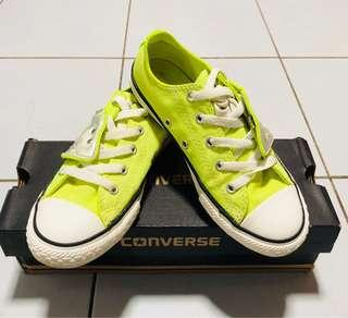 Converse Neon Yellow Sneakers