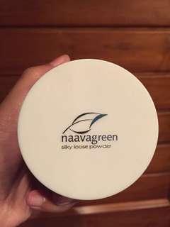 Nava green bubuk powder