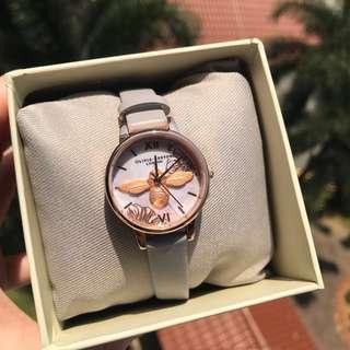 🚚 Olivia burton Abstract Grey Lilac & Rose Gold watch
