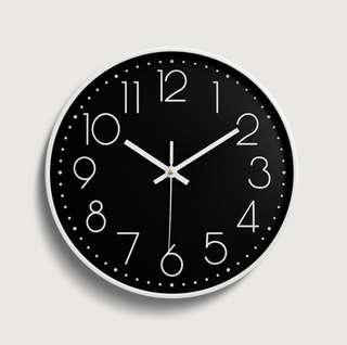 Minimalist Clock wall simple lifestyle clock time one time clock