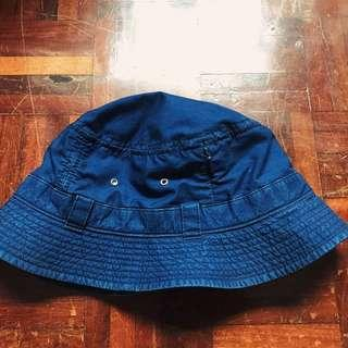 MORNO Indigo Safari Hat - Navy  藍染漁夫帽 日本帽子工房