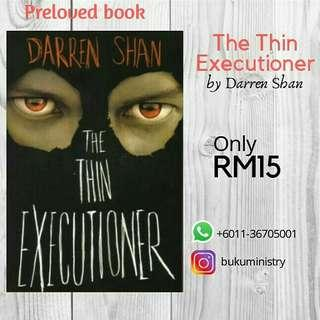 The Thin Executioner By Darren Shan (Preloved)