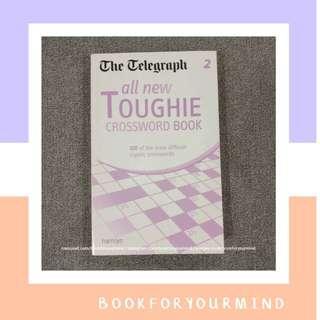 CROSSWORD BOOK by The Telegraph   Teka Teki silang Bahasa Inggris   TTS   All new toughie