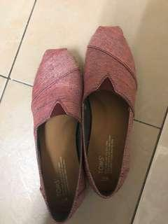 TOMS Wedge shoes women size 9