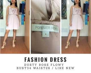 Forever NEW blush pink dress