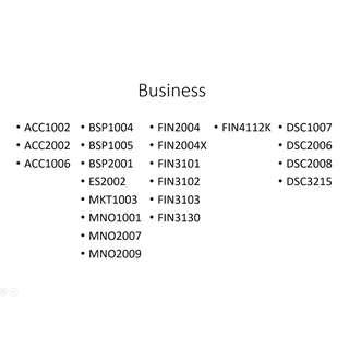 🚚 NUS Business/Computing/Math/Statistics/Chemistry/Life Science Resources