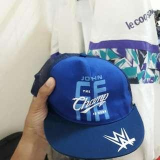 WWE Wrestling JOHN CENA authentic cap topi