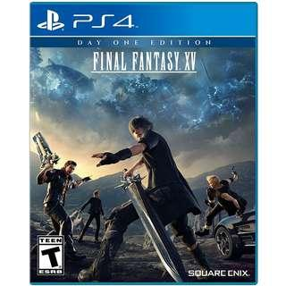 [New] PS4 Final Fantasy XV CD game