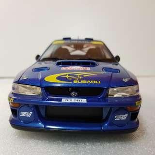 1/18 Autoart Subaru WRC #5 Rally Monte Carlo