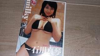 日版DVD --女優(石川真琴)---全新貨品。