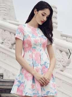 [PL] TCL Cherise Florals Skater Dress