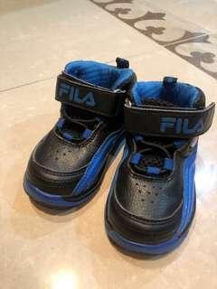🚚 兒童fila球鞋 藍色14.5公分八成新