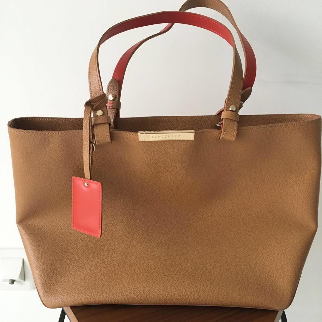 ≪330→Lower price!≫ Like New - Longchamp Le Foulonne City Tote bag ... 069757ee9be84