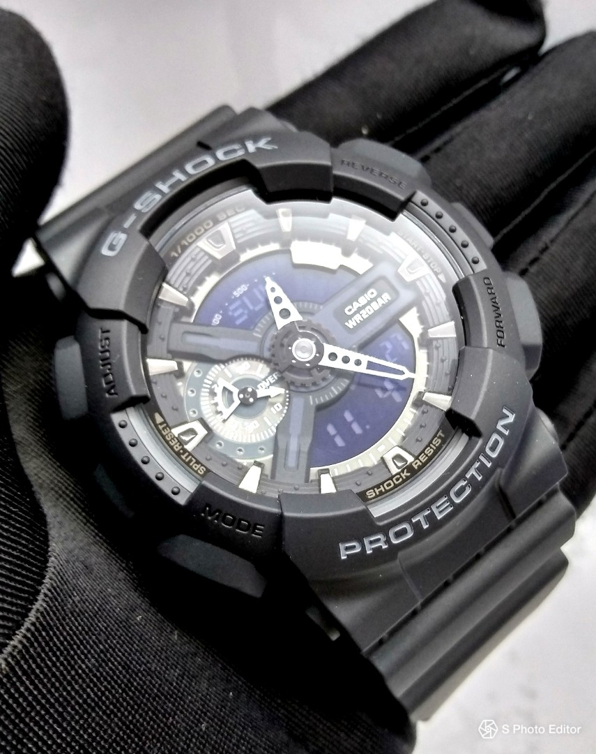 FREE DELIVERY   Brand New 100% Authentic Casio GShock Stealth Black ... 6faadde0f