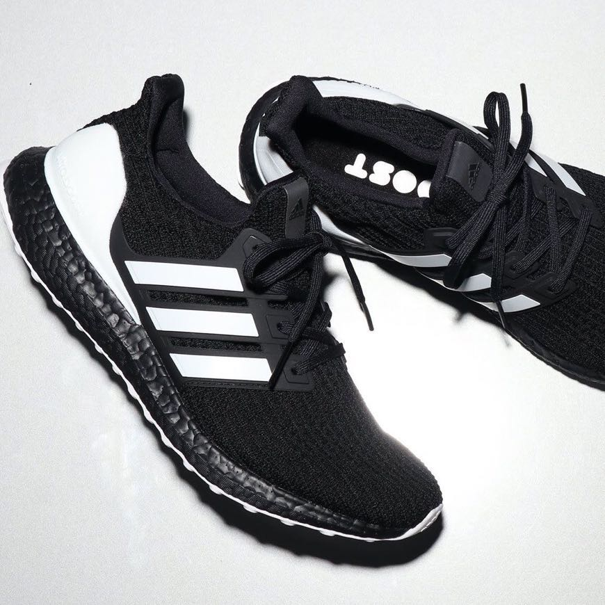 "20daf622b adidas Ultra Boost 4.0 ""DNA"" Orca Core Black/White, Men's Fashion ..."